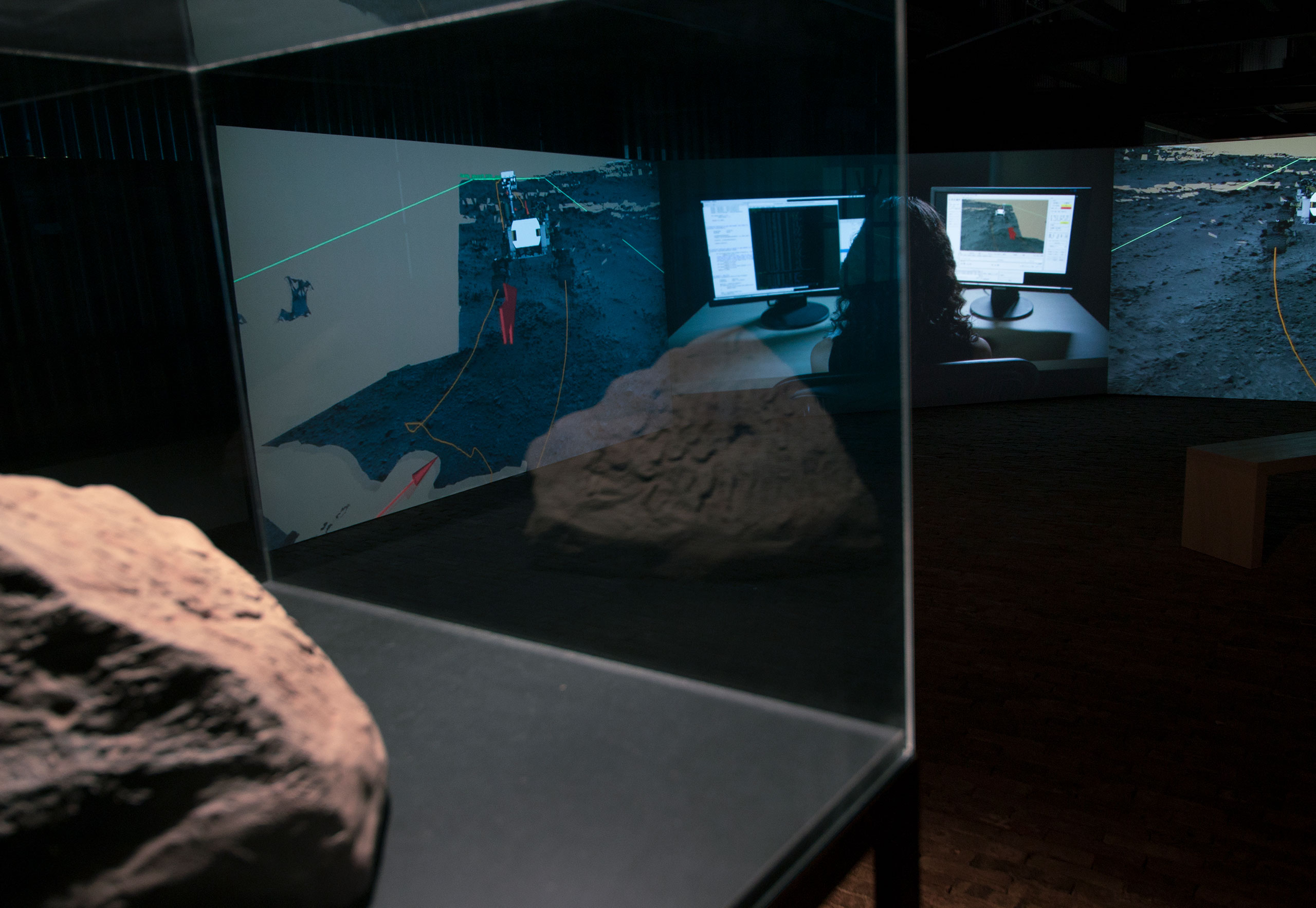 The Photons of Mars installation acquired for the Kiasma collection